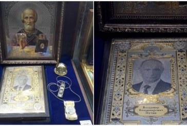 В Пулково начали продавать иконы с Путиным