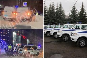В Сургуте во время преследования нарушителя столкнулись две машины ППС