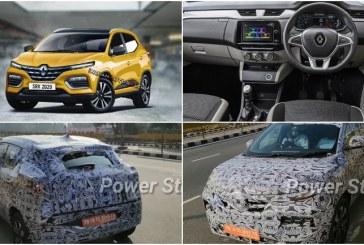Опубликованы первые изображения нового недорогого кроссовера Renault
