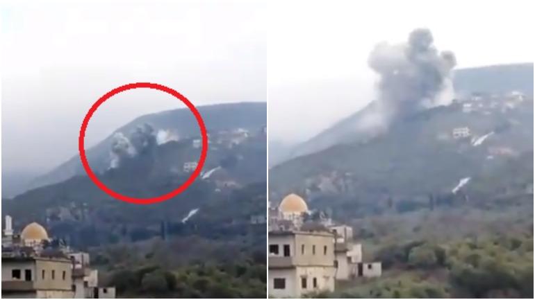 Удар ВКС России по джихадистам в Сирии привёл к разрушению горы