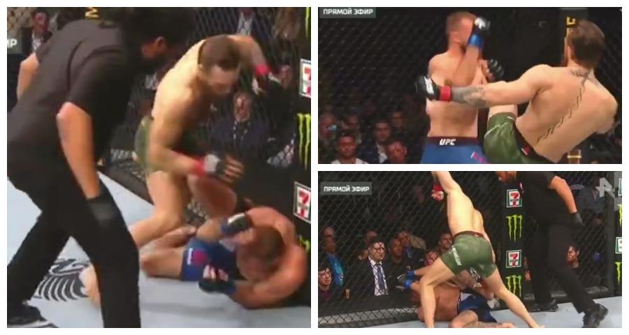 Макгрегор нокаутировал Серроне на турнире UFC 246