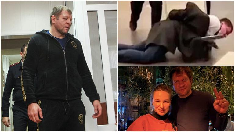 Александра Емельяненко арестовали за мелкое хулиганство в Анапе