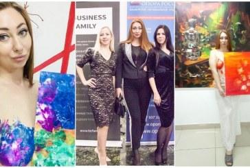 Экс-кандидат на пост главы Башкирии Сания Тимасова нарисовала картину грудью