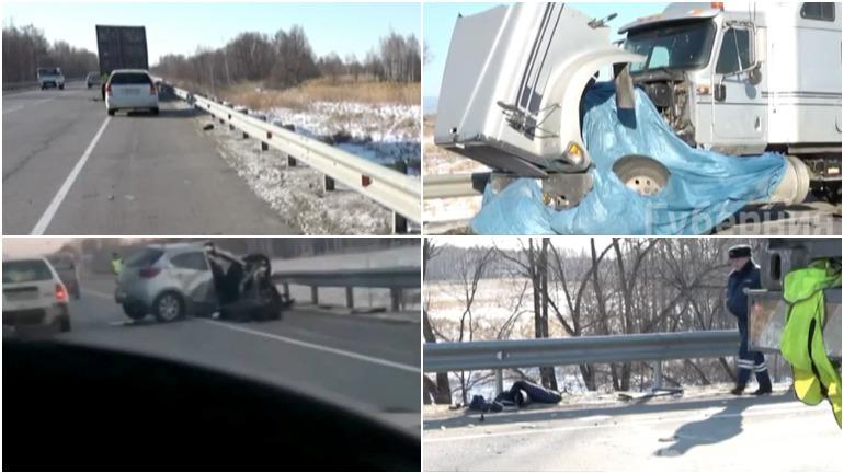 В Хабаровском крае женщина погибла в столкновении с грузовиком
