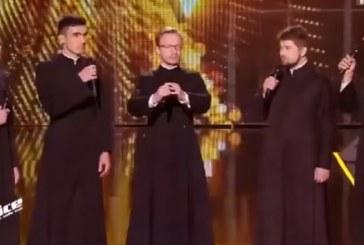 Русские священники поразили жюри французского «Голоса»