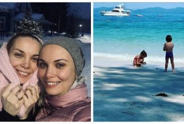 Ольга Арнтгольц поделилась совместным фото сына и дочери