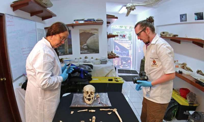 Ученые нашли отличия скелета древней мексиканки от современных американцев