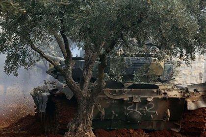 В Сирии вновь замечен захваченный боевиками Т-90
