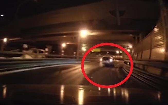 Опубликовано видео погони полиции за нарушителем в Санкт-Петербурге