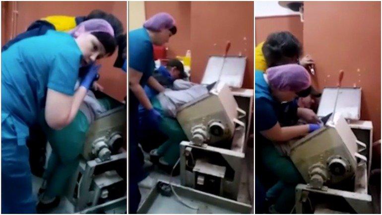 В Бийске женщине зажевало руку в тестомесильной машине