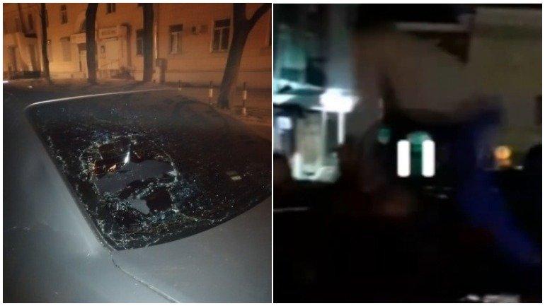 Появилось видео массовой драки в центре Воронежа