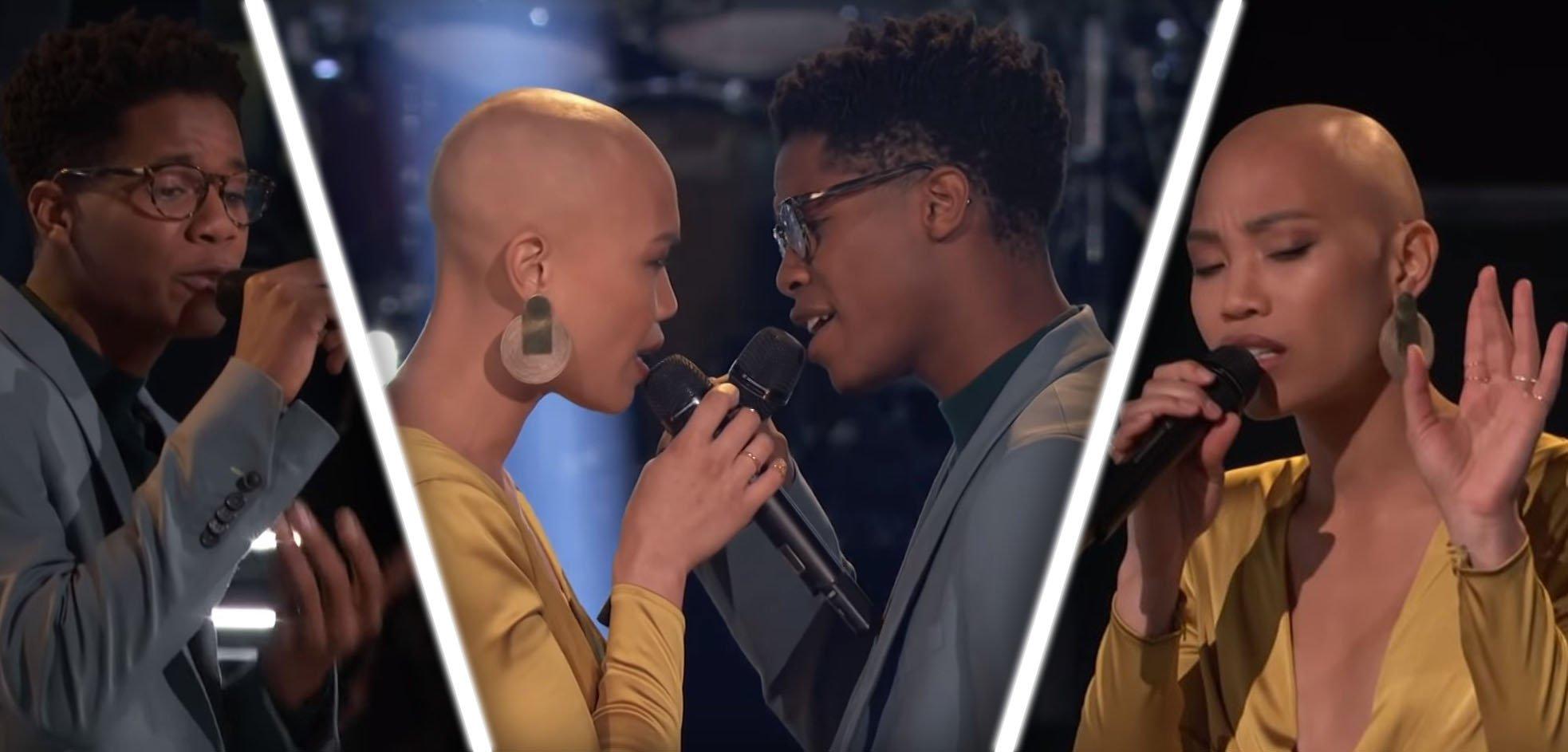 Участники шоу «Голос» устроили на сцене «сексуальный» поединок