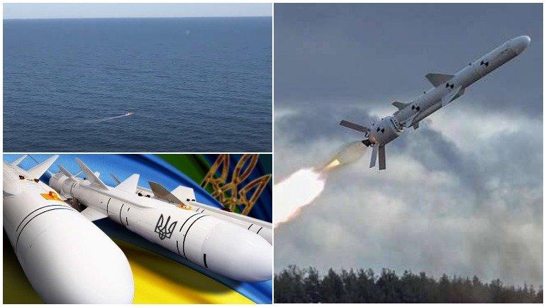 Опубликовано видео испытаний украинской ракеты «Нептун»