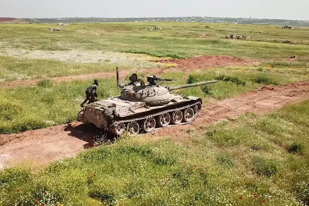 В Сети опубликовано фото редчайшей модификации Т-62