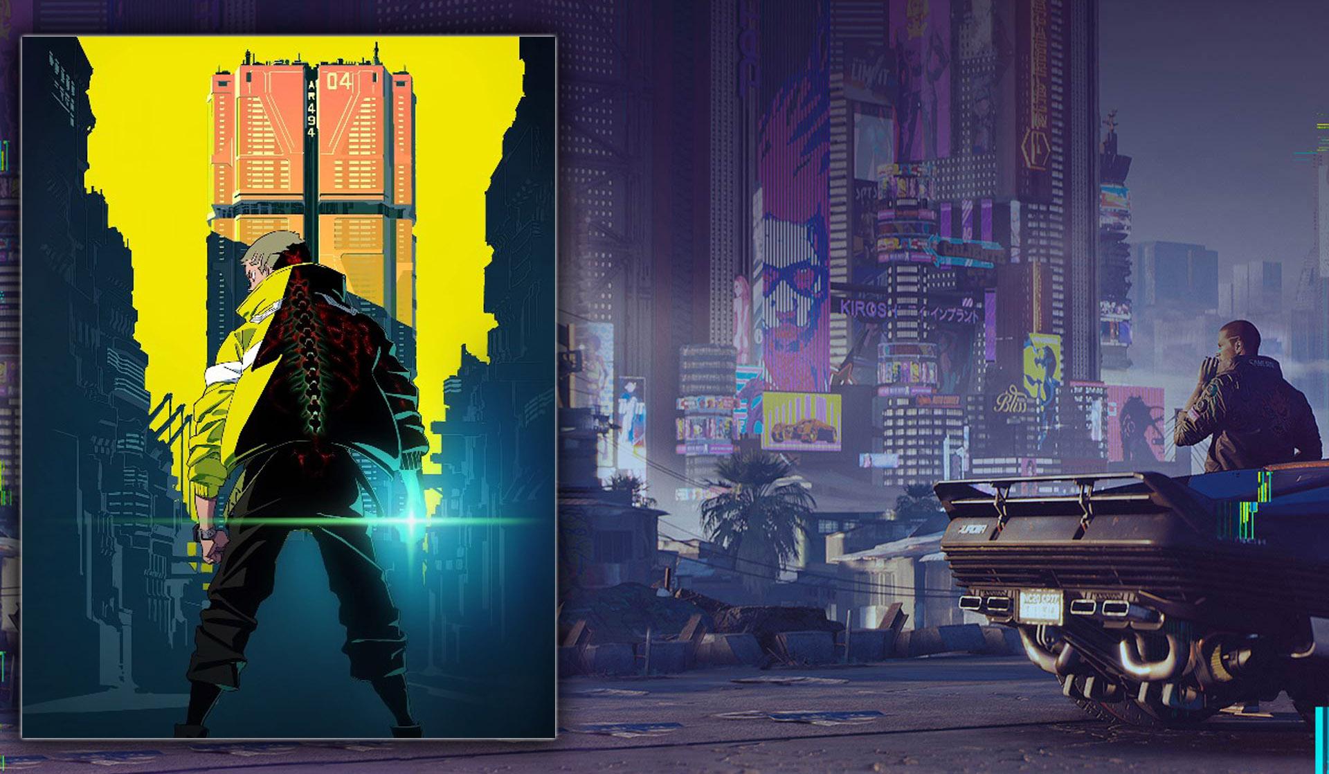 Netflix выпустит аниме-сериал по мотивам игры Cyberpunk 2077