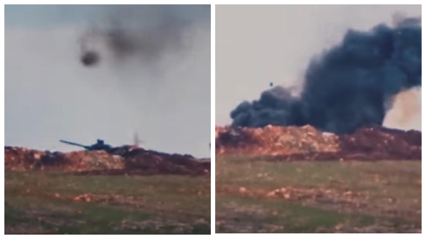 Американская противотанковая ракета даже при прямом попадании не сумела уничтожить танк Т-72