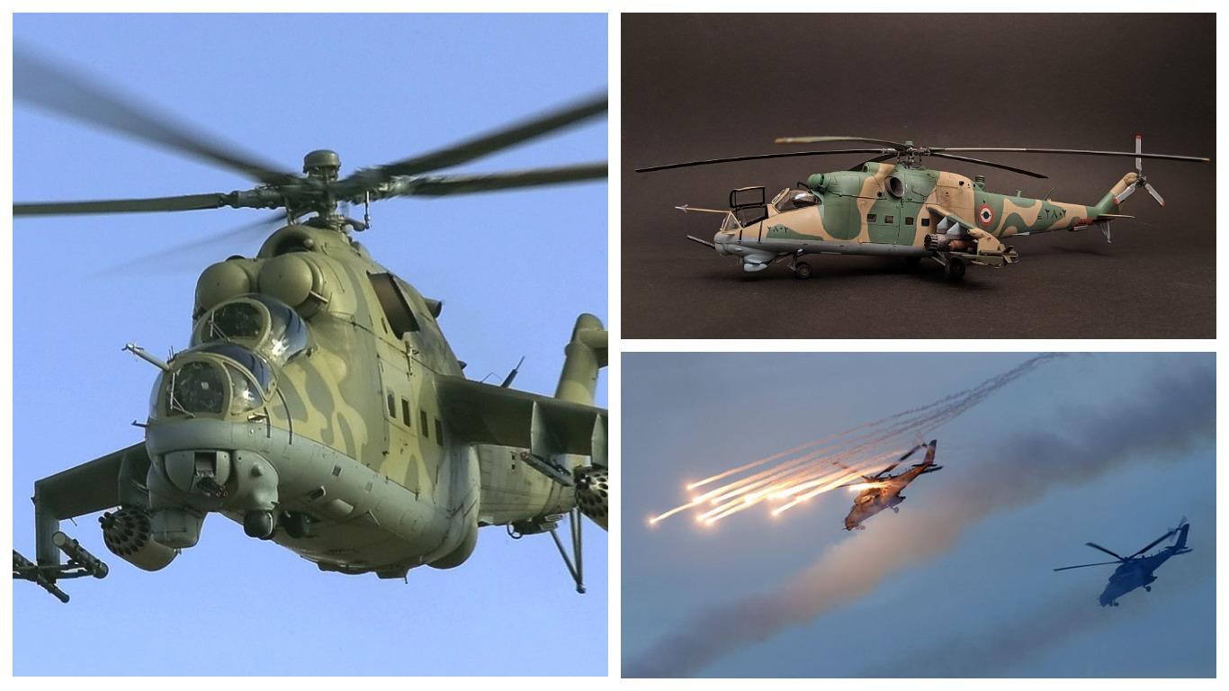 Экстремальный полет Ми-25 ВВС Сирии был снят на видео