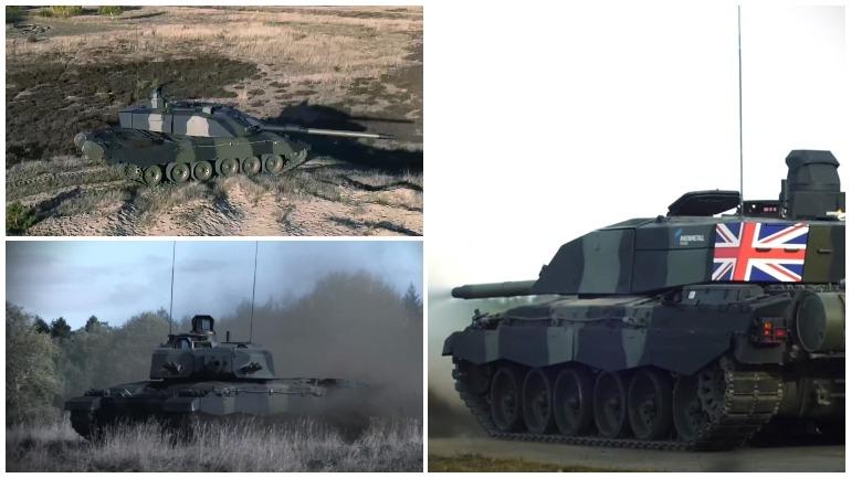 Появилось видео новой версии британского танка Challenger 2