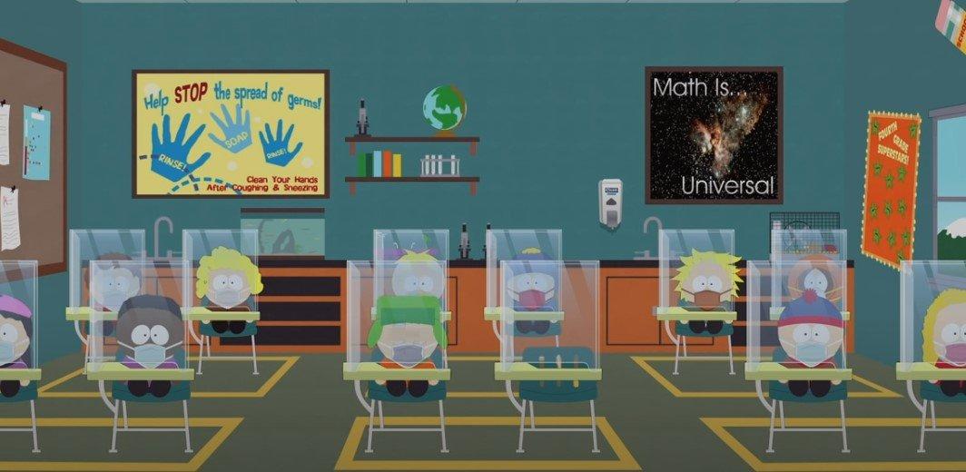 """В мультсериале """"Южный парк"""" появится серия про пандемию коронавируса"""