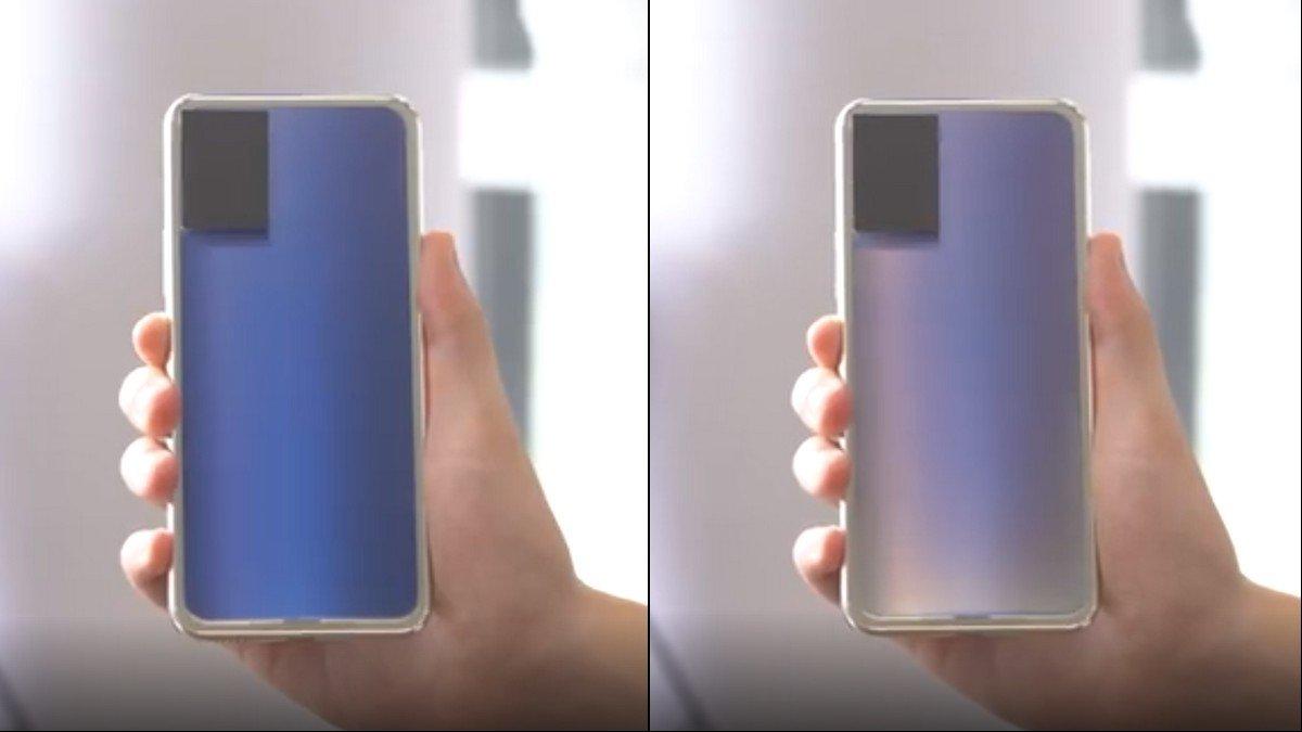 В Сети появилось видео смартфона Vivo, который способен менять свой цвет