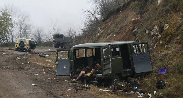 В местах боев в Карабахе обнаружено более 1 тыс. тел погибших