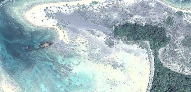 """Странные места из Google Maps: от """"озера крови"""" до таинственной """"пентаграммы"""" в Казахстане"""
